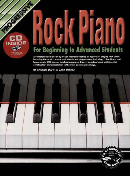 Progressive Rock Piano (Book/CD)