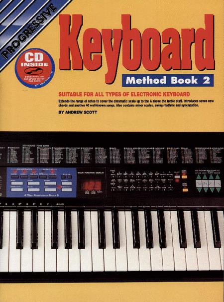 Progressive Keyboard Method Book 2 (Book/CD)