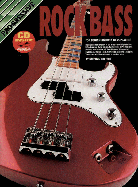 Progressive Rock Bass (Book/CD)