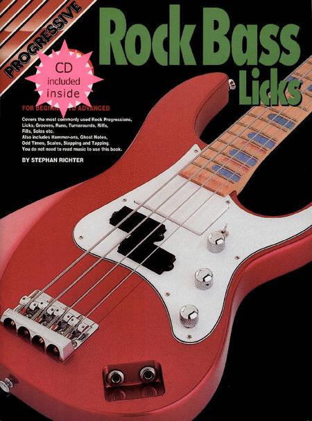 Progressive Rock Bass Licks (Book/CD)