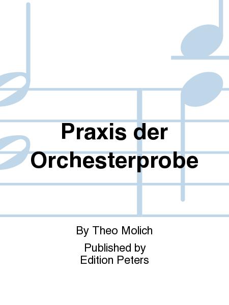 Praxis der Orchesterprobe