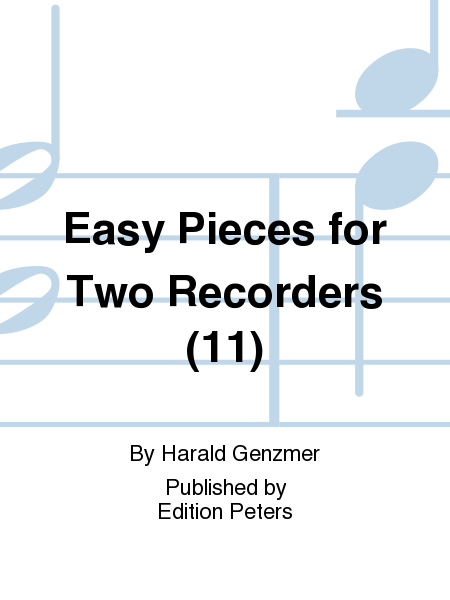 Easy Pieces for Two Recorders (11)