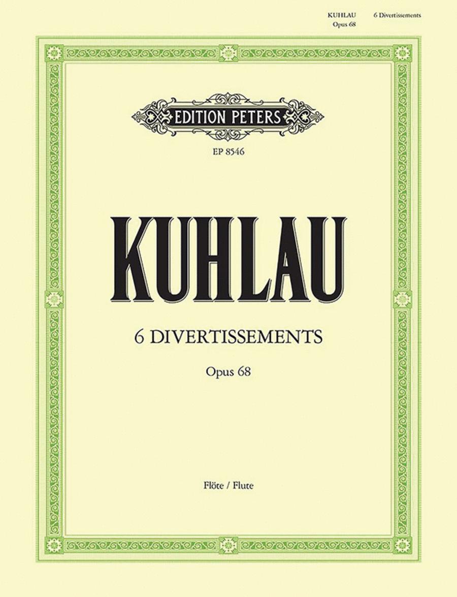 6 Divertissements Op. 68