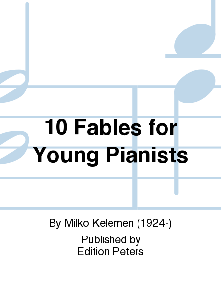 10 Fables for Young Pianists