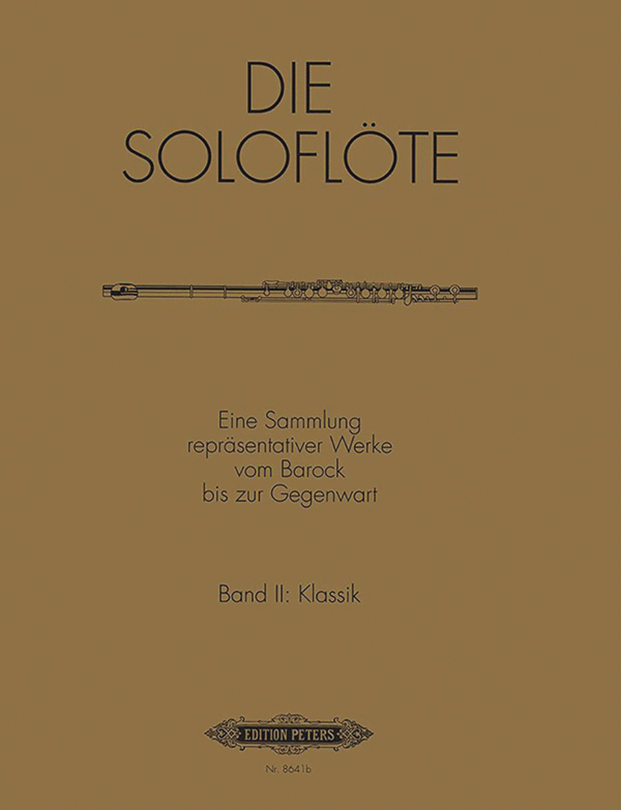 The Solo Flute Vol. 2: Classical