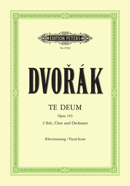 Te Deum Op. 103