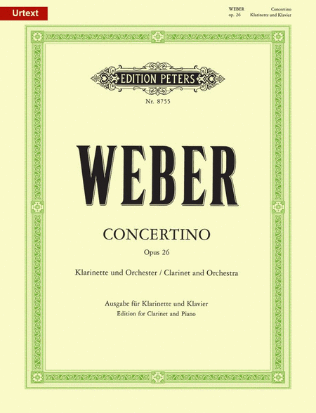 Concertino in E flat Op. 26