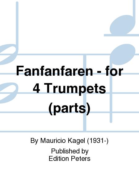 Fanfanfaren - for 4 Trumpets (parts)
