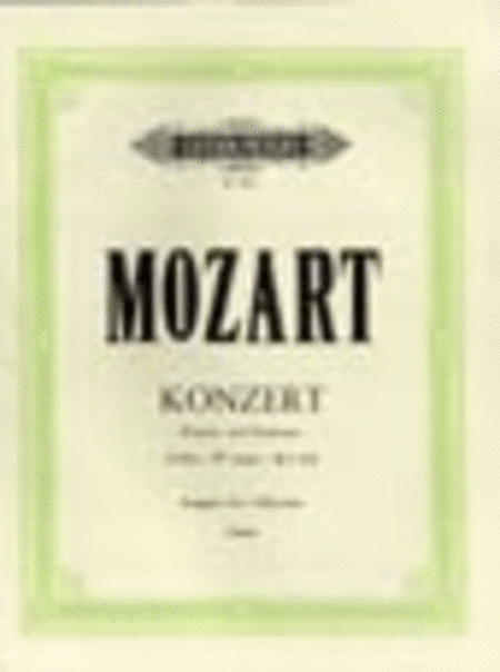 Concerto No.15 in B flat K450