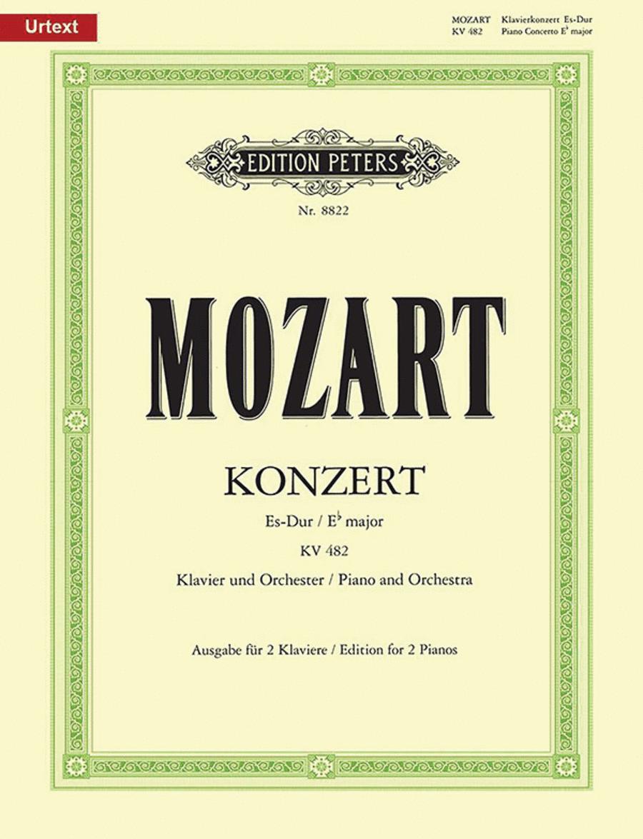 Concerto No. 22 in E flat K482