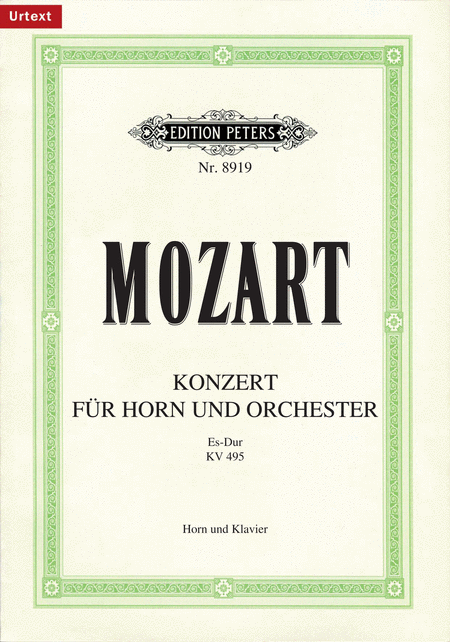Horn Concerto No. 4 in E flat K.495