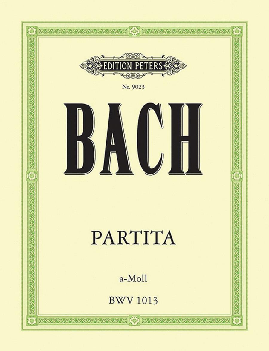 Partita in A minor (Sonata) BWV 1013