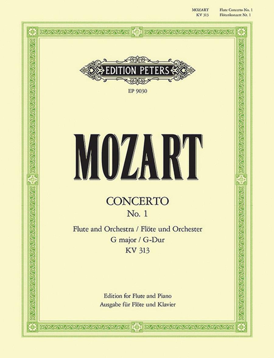 Flute Concerto in G Major K313