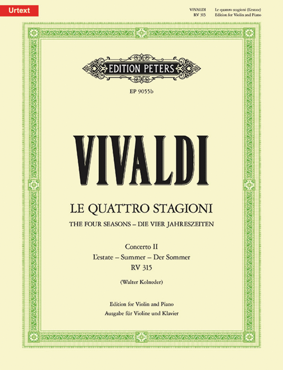 The Four Seasons Op. 8 No. 2 in G