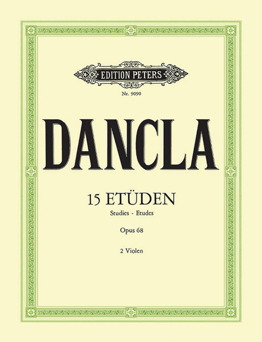 15 Studies Op. 68 for 2 Violas
