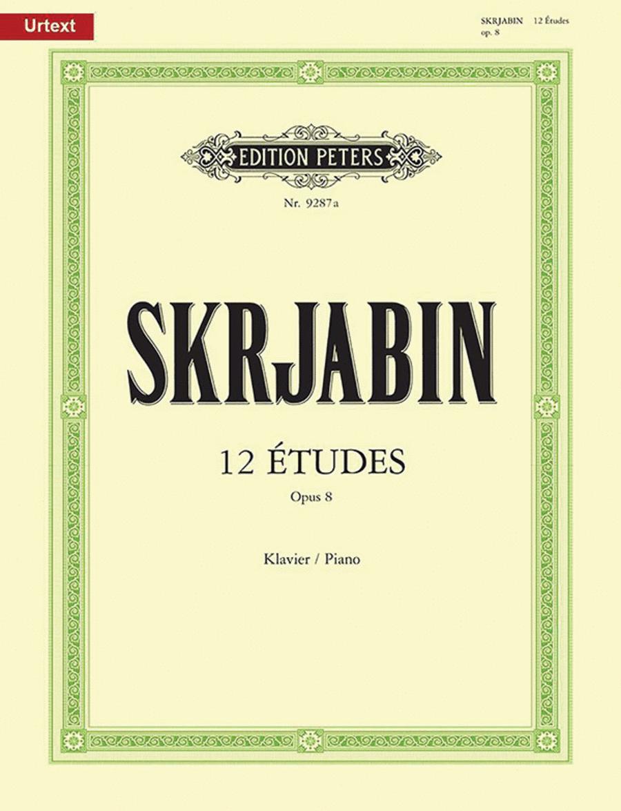 12 Etudes Op. 8
