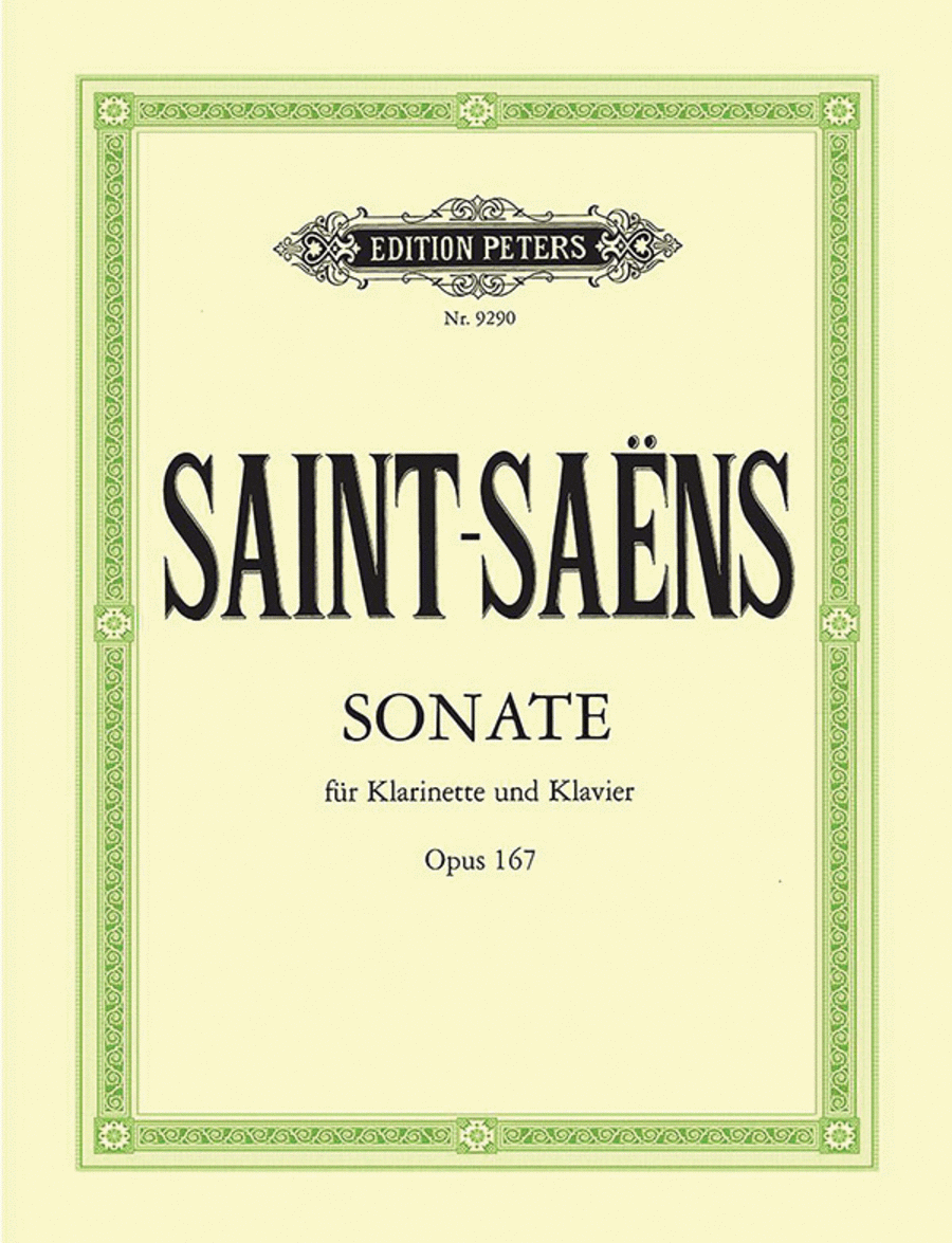 Clarinet Sonata, Op. 167