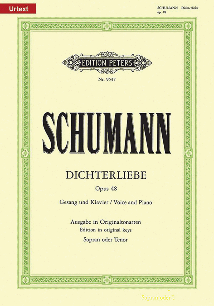 Dichterliebe, Op. 48 - High Voice and Piano