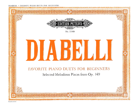 Favorite Piano Duets for Beginners