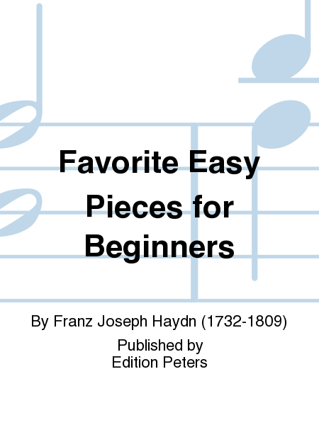 Favorite Easy Pieces for Beginners