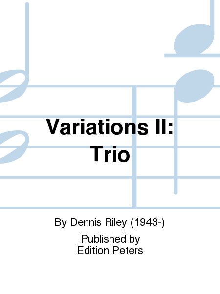 Variations II: Trio