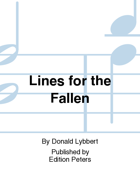 Lines for the Fallen