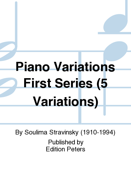 Piano Variations First Series (5 Variations)