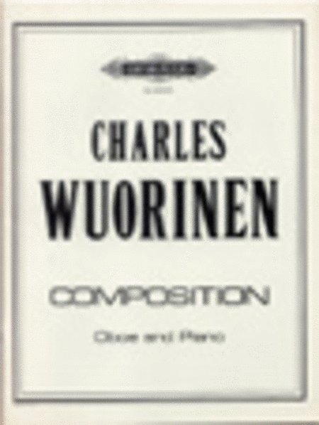 Composition for Oboe and Piano