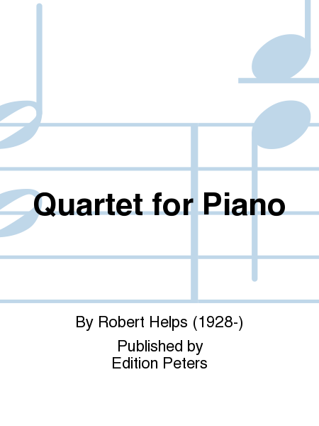Quartet for Piano