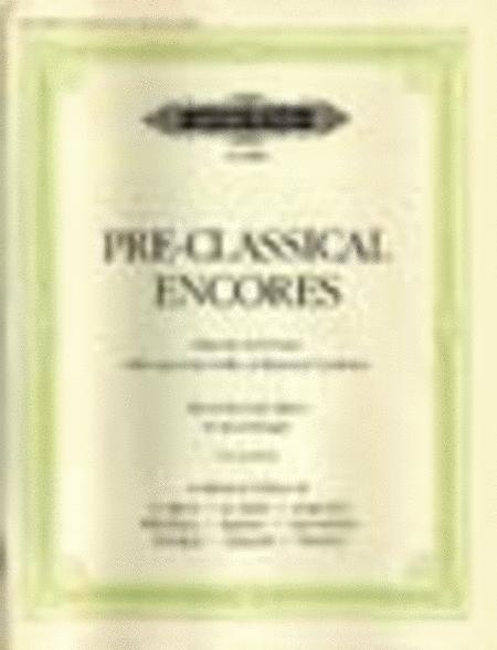 Pre-Classical Encores