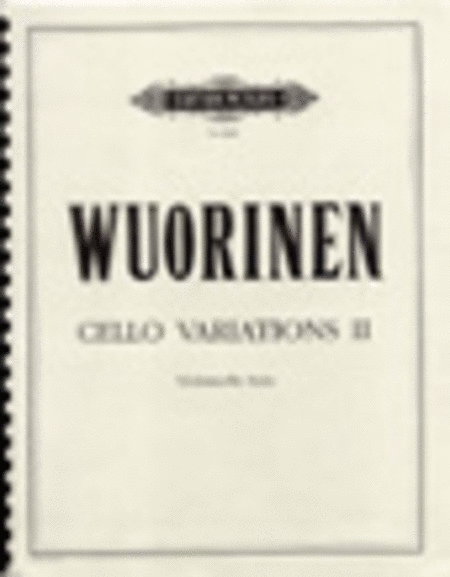 Cello Variations II
