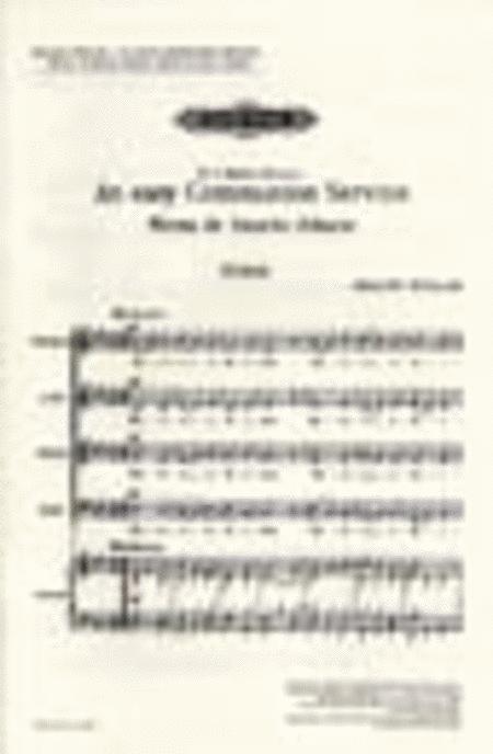 Easy Communion Service,An (Missa de Sacncto Albano)