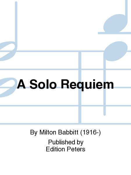 A Solo Requiem