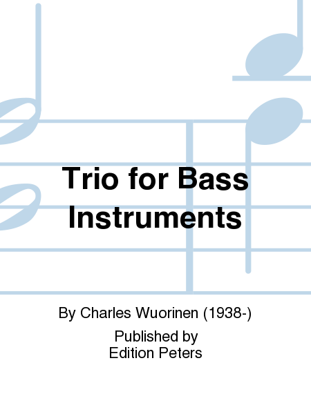 Trio for Bass Instruments