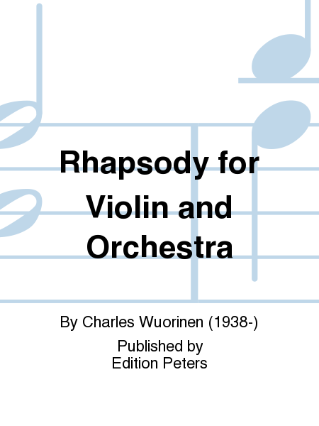 Rhapsody for Violin and Orchestra