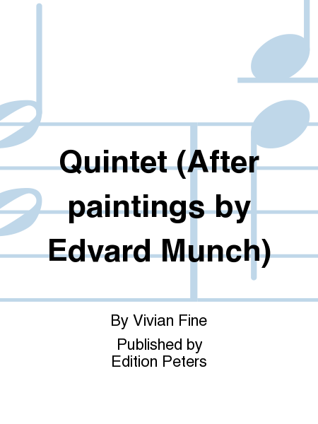 Quintet (After paintings by Edvard Munch)