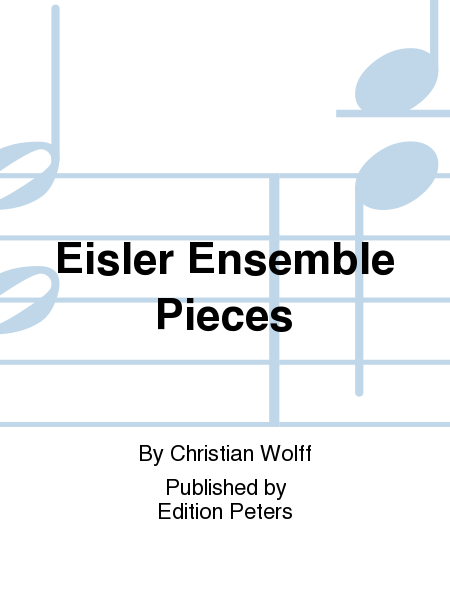 Eisler Ensemble Pieces
