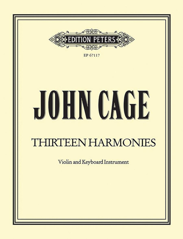 Thirteen Harmonies (from APARTMENT HOUSE 1776)