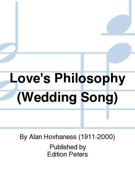Love's Philosophy (Wedding Song)