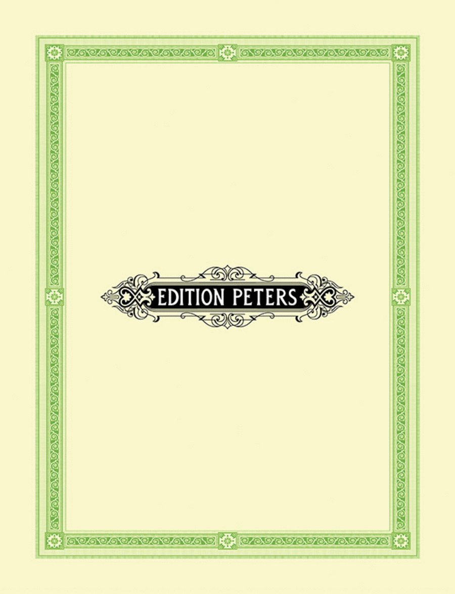 Preludes, Interludes and Postludes