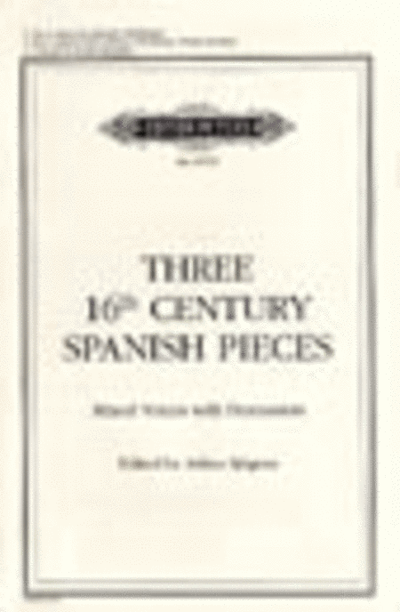 Three 16th Century Spanish Pieces
