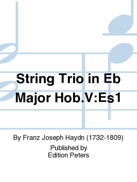 String Trio in Eb Major Hob.V:Es1