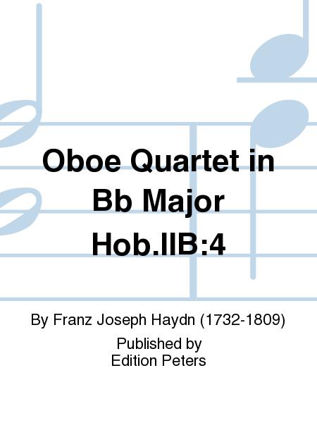 Oboe Quartet in Bb Major Hob.IIB:4