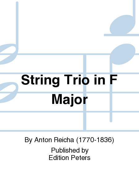 String Trio in F Major