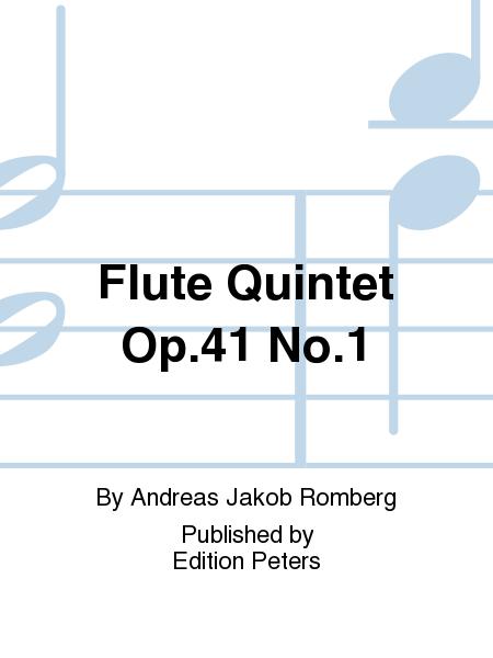 Flute Quintet Op. 41 No. 1