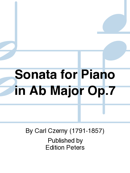 Sonata for Piano in Ab Major Op.7