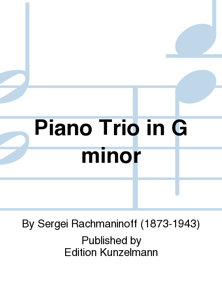 Piano Trio in G minor