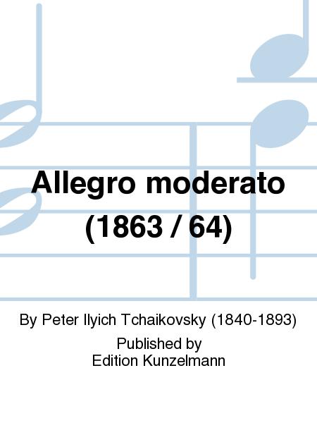 Allegro moderato (1863 / 64)