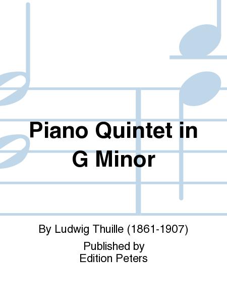 Piano Quintet in G Minor