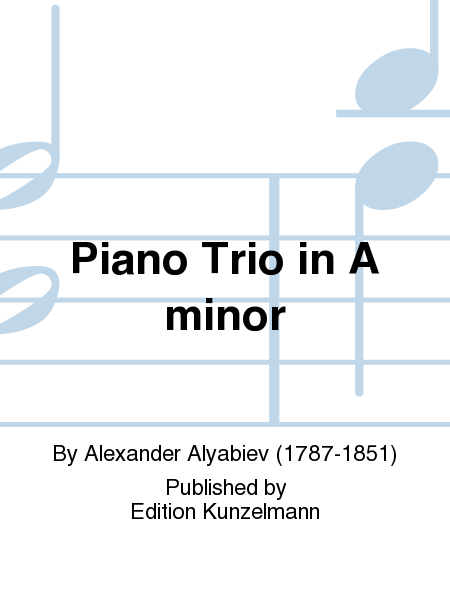 Piano Trio in A minor